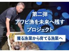 アワビ漁を未来に残す!漁獲を安定させ全国の食卓に届けたい(第2弾)