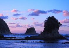 日蓮聖人ご降誕800年プロジェクト 海中に沈む日蓮聖人生誕の地を探す