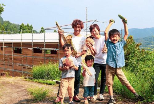 自然豊かな徳島美郷でこだわり木の家をセルフビルド!~子育て支援や文化交流の場となり、いのち溢れる山暮らしの魅力を届けたい~