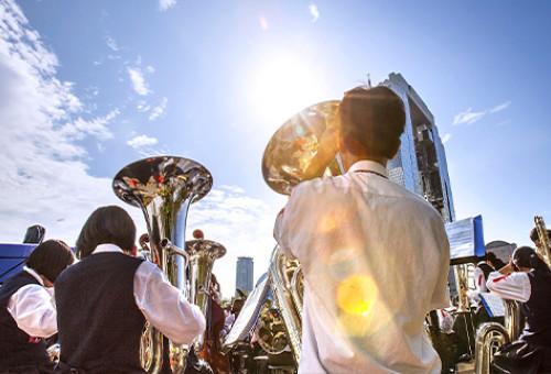 吹奏楽を頑張っている子どもたちの応援プロジェクト。益城中学校のコンクール連覇を支援しよう!
