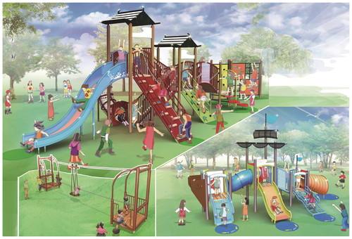 安心して子育てできる環境を確保したい!新しい遊具を設置して子どもの居場所作りを!
