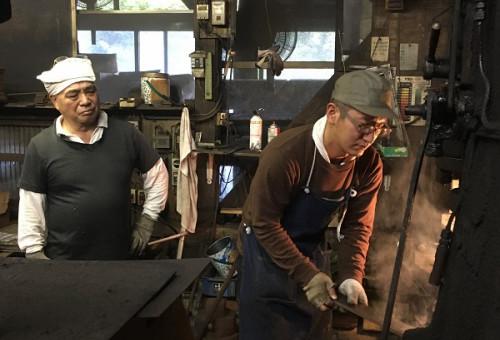 新潟県が誇る500年の伝統「越後与板打刃物」の技術を次世代につなげたい!