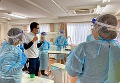 クラスター発生施設に支援の手を。民間の医療支援チームを支えてください