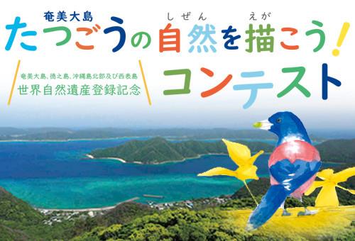 【世界自然遺産登録記念】奄美大島たつごうの自然を描こう!コンテスト