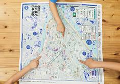 子どもたちに「防災学習」を普及!すみだの魅力と安心を包む「防災観光ふろしきプロジェクト」