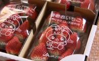 【甘くて美味しい「完熟いちご」の登場です!!】