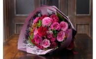 心動かす特選フレグランスローズの花束をお届け♪