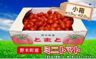 全国から多数の口コミを頂いた野木町のミニトマト!