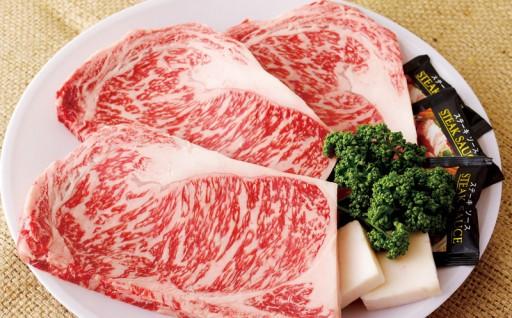 数量限定、冷蔵お届け 長崎和牛サーロインステーキ