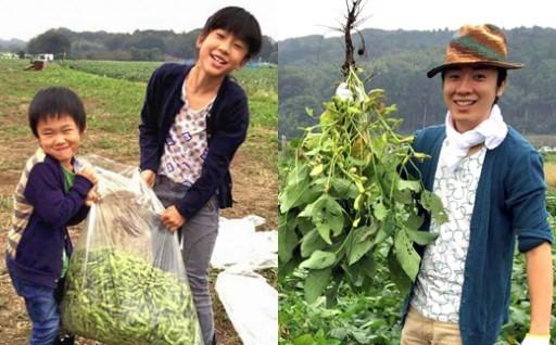 幻の大豆「小糸在来®」の畑約5坪を自由に収穫!!