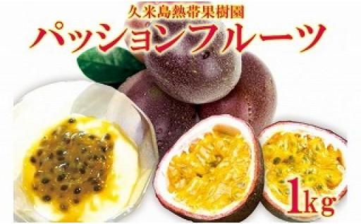 久米島熱帯果樹園パッションフルーツ 1kg