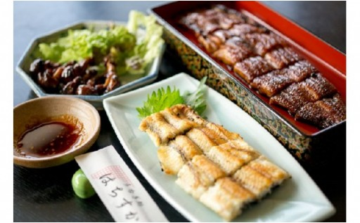 鰻三昧!!蒲焼、白焼、肝焼、三種セット