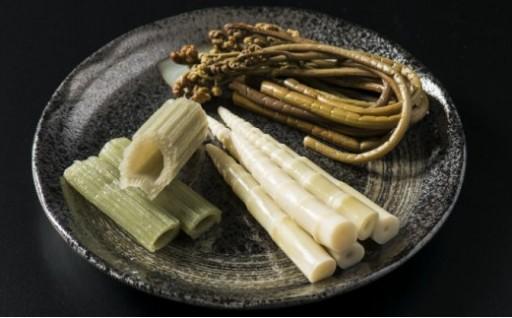 山菜の季節です♪美味しく体をリセットしましょう!