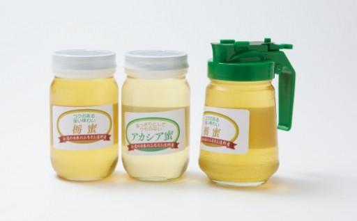 とれたての「アカシア蜜」の蜂蜜セット受付開始!!