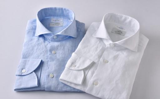 クールに着こなす夏のHITOYOSHIシャツ