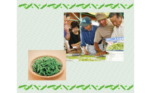 横手の枝豆は、甘くて香りが最高!