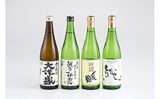 「〆張鶴」と「大洋盛」の飲み比べ4本セット