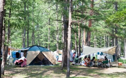 白馬グリーンスポーツの森 手ぶらキャンプセット!