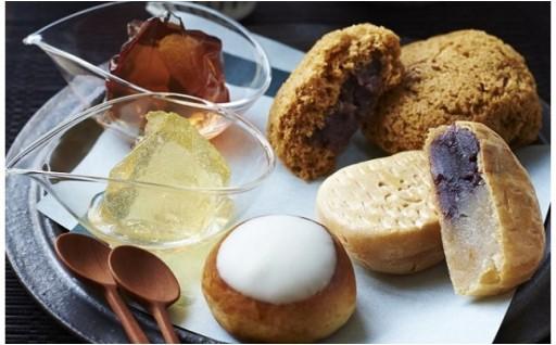 みやしろの四季を和菓子で表現