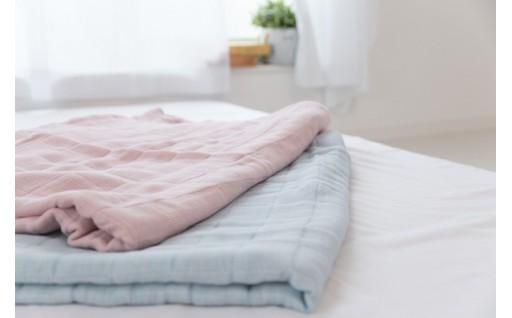 快適な睡眠に コーマ糸を使った4重ガーゼケット