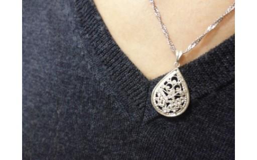 銀線細工の素敵なネックレス、いかがでしょうか?