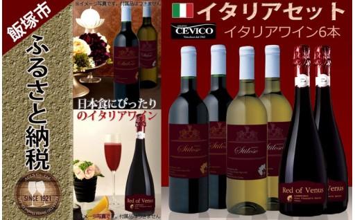 イタリアワイン スパークリングワイン 6本セット
