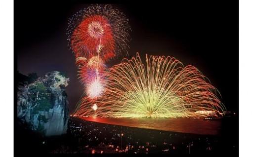 特等席☆熊野大花火大会有料浜席~7/31受付まで