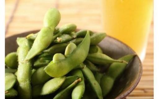 茶豆特有の風味が美味!枝豆『晩酌茶豆』受付開始!
