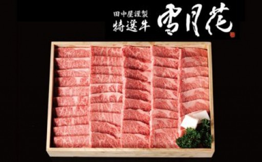 暑い夏にはスタミナを!A5飛騨牛焼肉用約1kg♪