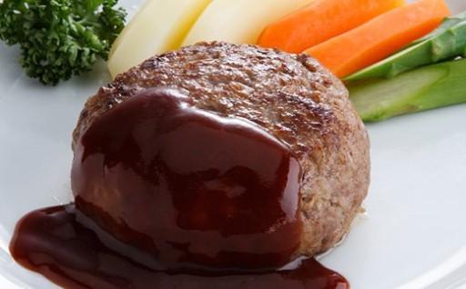 溢れ出る肉汁の虜!特選牛肉 かずさ和牛ハンバーグ