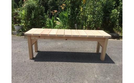 木工桧ベンチⅡ