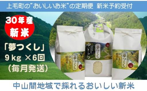 新米定期便受付開始!里山でとれるおいしいお米です