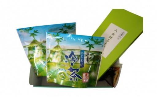 【夏限定】あじわい冷茶と茶そばセットの登場です!
