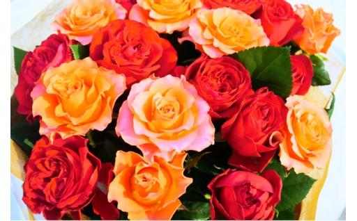 大切な贈り物だから産地もこだわる朝切りバラの花束