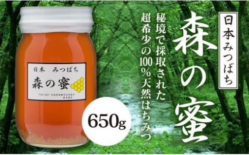 日本みつばち 森の蜜(国産純粋百花蜂蜜)