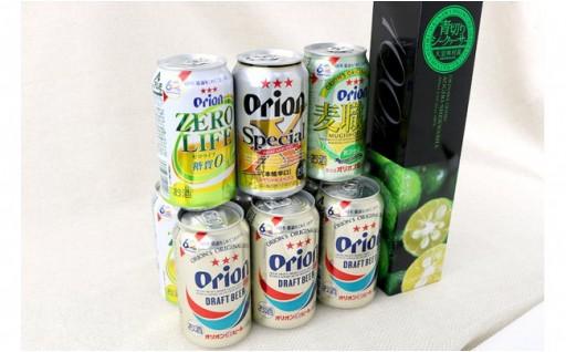 Orion4種類&シークヮサージュースセット