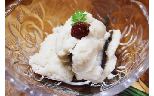 瀬戸内発「湯引きハモ」(1kg)酢味噌、梅肉付き