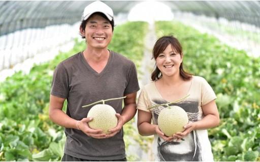 【受付終了…8/15日】 ふらのメロン 2玉
