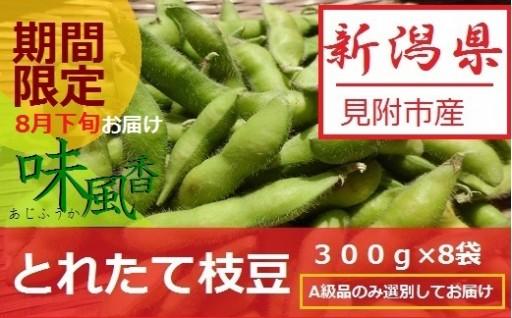 新潟県産とれたて枝豆を直送!