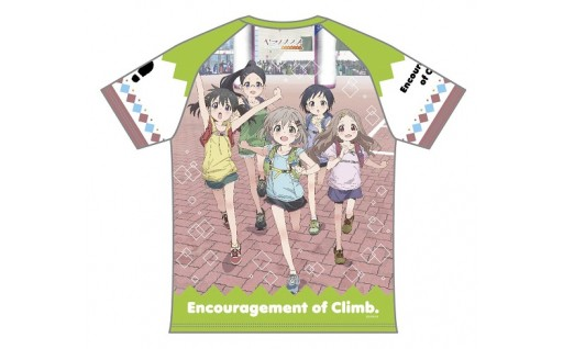 ヤマノススメ トレイルランニングシャツが登場!