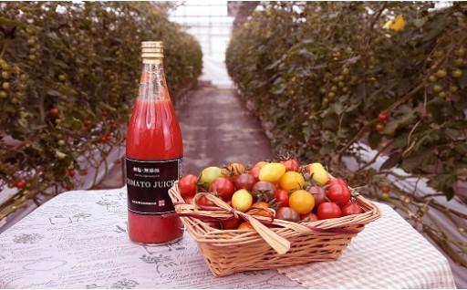 受付再開!ジュエリートマト&贅沢トマトジュース
