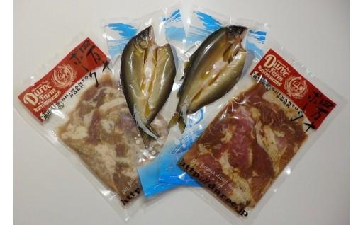 ブランドポークのお肉と四万十の鮎セットが登場!