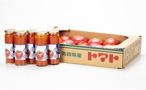 【七戸町】 一番美味しい時期のトマト&ジュース