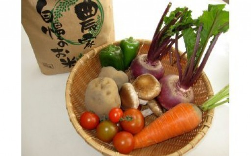 産直直送☆季節の野菜とお米セットが今年も登場!