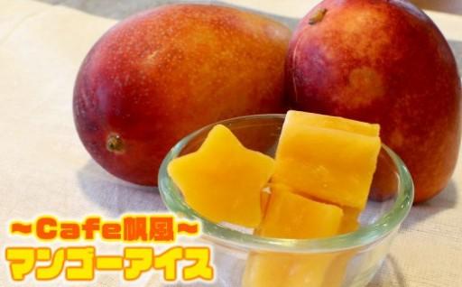 cafe帆風の マンゴーアイス【限定20セット】