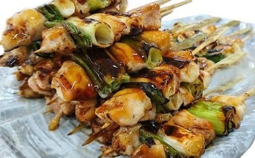 おいしさいろいろ地鶏串、大和肉鶏の焼鳥セット。