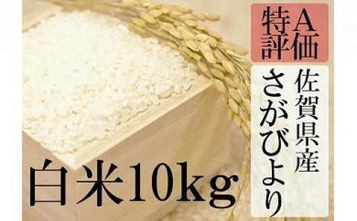 大人気の佐賀県産米『さがびより』新米受付開始!!