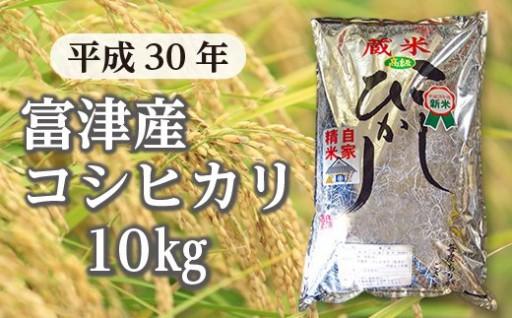 【新米】富津産コシヒカリ10kg(精米)受付開始