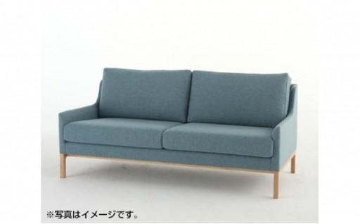 [カリモク家具]布張りソファ