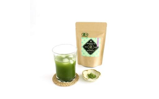 諸木農園の桑抹茶(身体にやさしいオーガニック)
